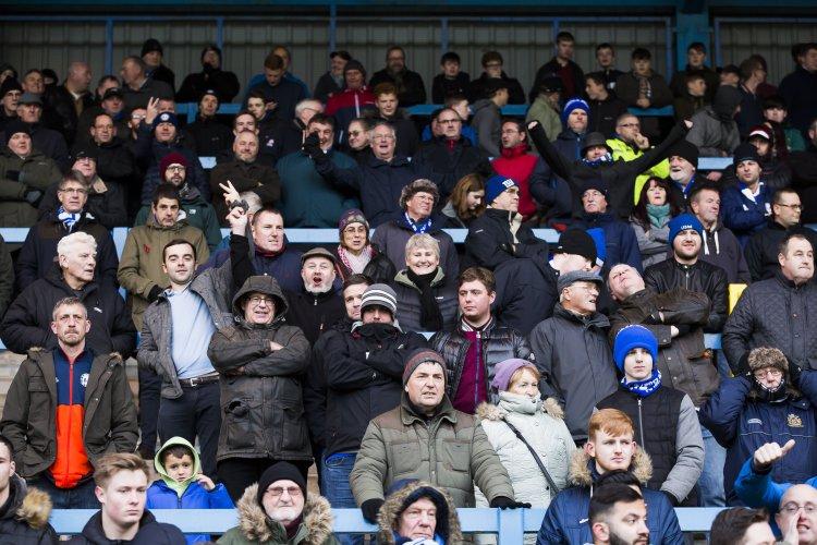 Football - FC Halifax Town v Eastleigh