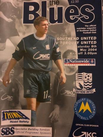Southend 2004 programme