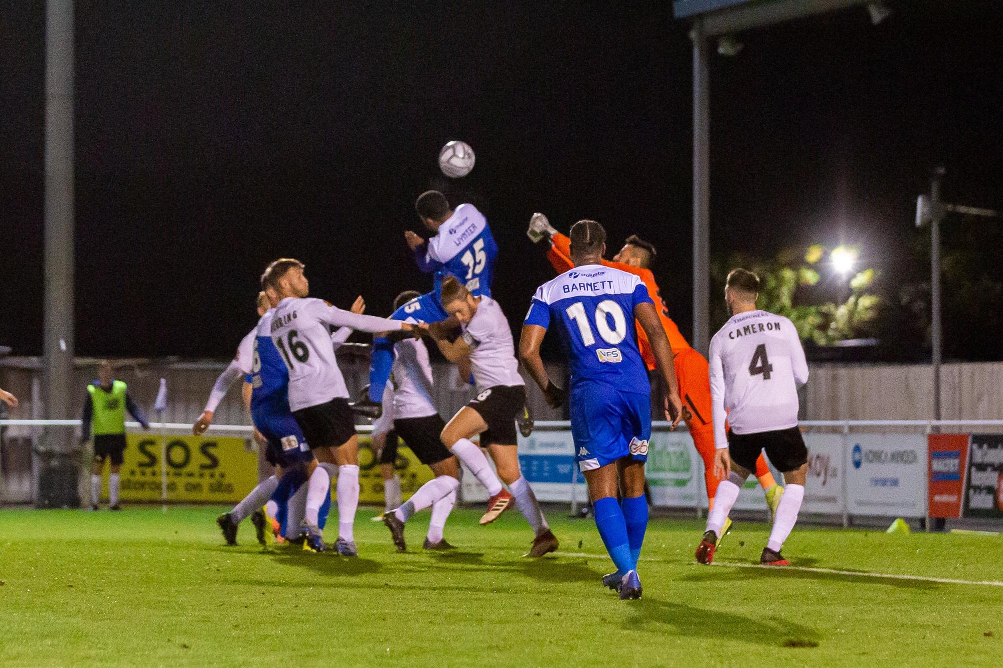 Eastleigh 2-1 TUFC